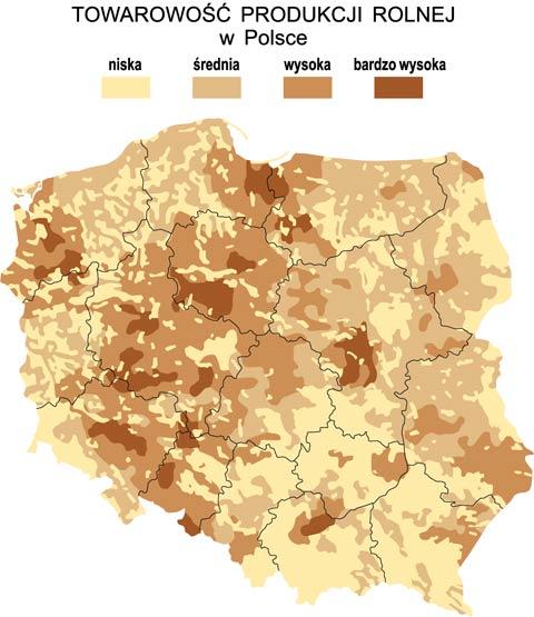 Towarowość produkcji w Polsce a stepowienie Wielkopolski