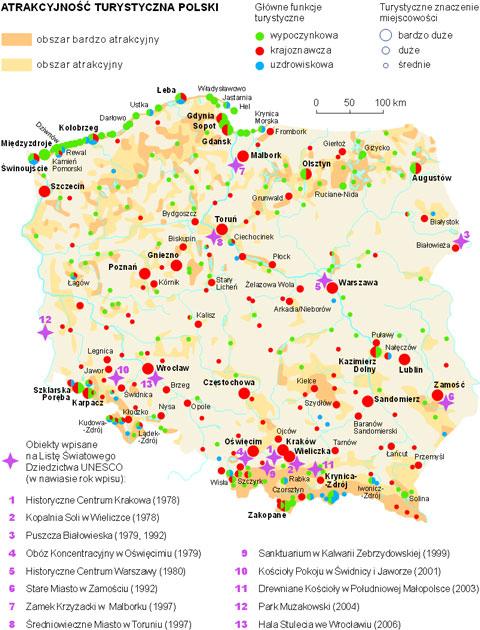 Wydawnictwa Edukacyjne Wiking Portal Edukacyjny Turystyka W Polsce
